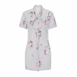 Sophie Cameron Davies - Silk Bow Dress Rose Print