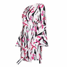 SABINA SÖDERBERG - Helena Dress - Pink Abstract