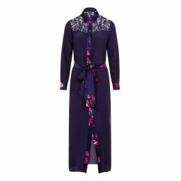 Sophie Cameron Davies - Midnight Blue Silk Maxi Dress