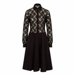 Sophie Cameron Davies - Black Lace Midi Dress