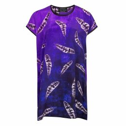 Louise Coleman - Silk Feather Tunic Dress