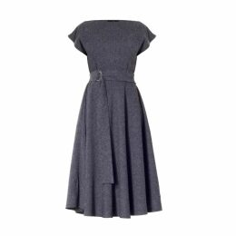 Vols & Original - Floral Print Red Bomber Jacket