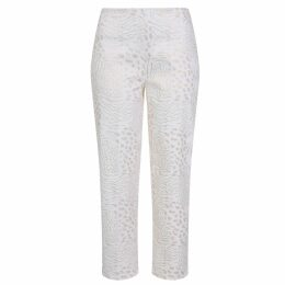 NY CHARISMA - Pink Wool Blend Coat With Hand Crochet Details