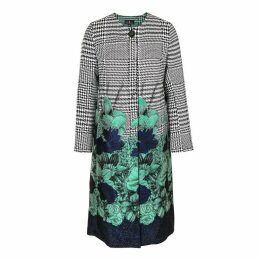Emily Lovelock - Houndstooth Jacquard Coat