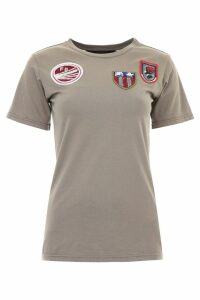 Mr & Mrs Italy T-shirt With Patches