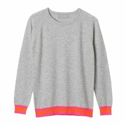 Cove - Philly Cashmere Jumper Grey