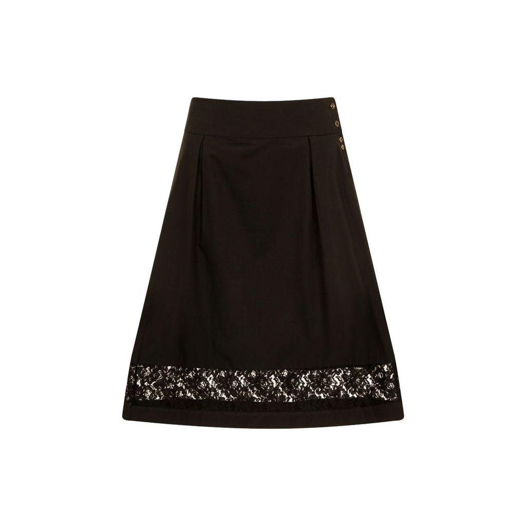 Sophie Cameron Davies - Black Cotton Skirt
