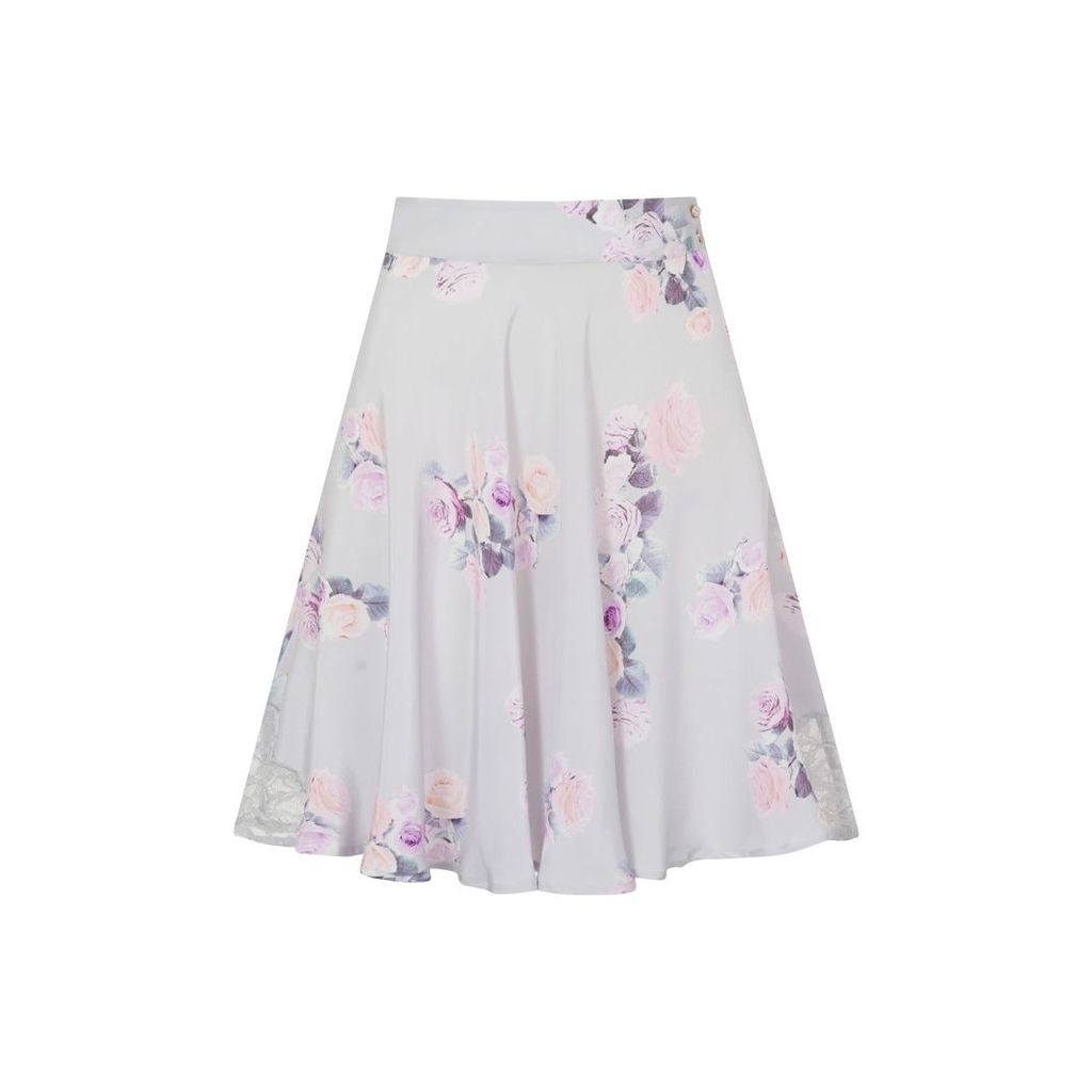 Sophie Cameron Davies - Rose Silk Skirt