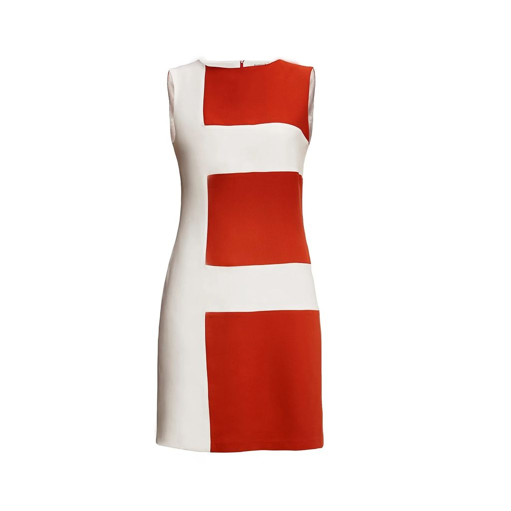 Claire Andrew - Sequin & Leather Skirt