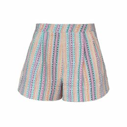 S I O B H A N M O L L O Y - Lashes Red Calf Suede Skirt