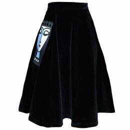 S I O B H A N M O L L O Y - Gracie Star Print Midi Skirt
