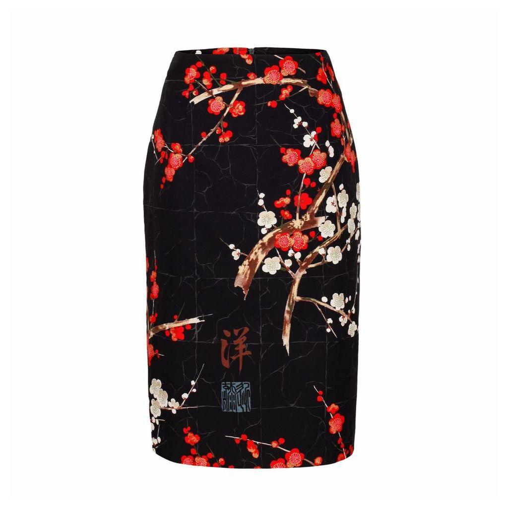 Marianna Déri - Emma Skirt Blossom Black