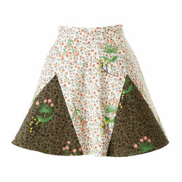 SUPERSWEET x moumi - Never-Wake-Up Berry Rhonda Skirt in White