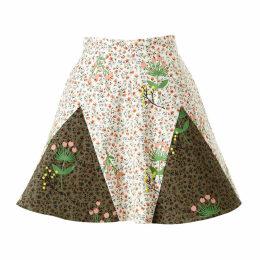 SUPERSWEET x moumi - Never-Wake-Up Berry Rhonda Skirt in White