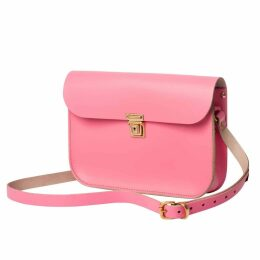 N'Damus London - Pink Leather 11 Inches Mini Satchel