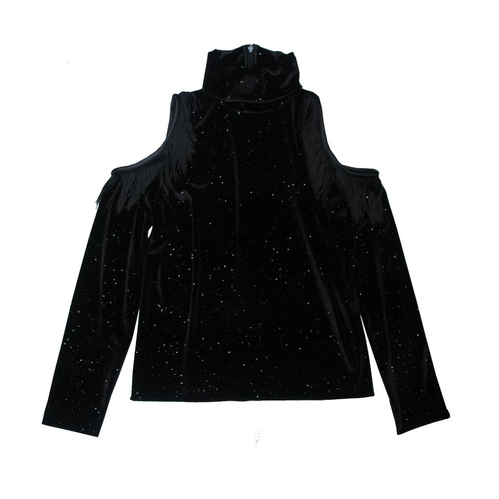 Nissa - Silk Clutch with Colored Crystals