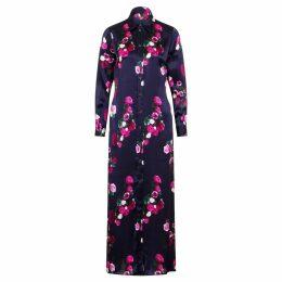 Angela Valentine Handbags - Loel Tiger Embroidered Top Handle Bag