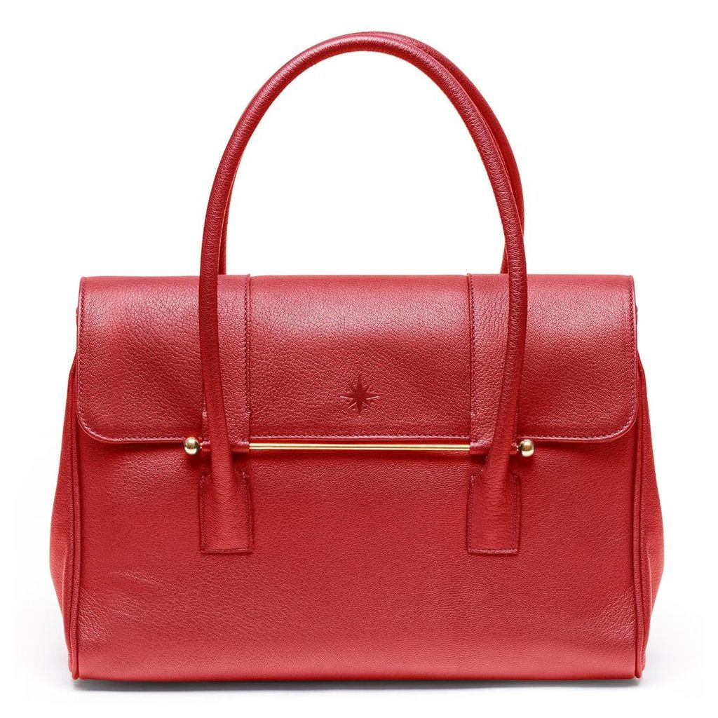Jardine of London - The Large 'Queen' Bag in Red
