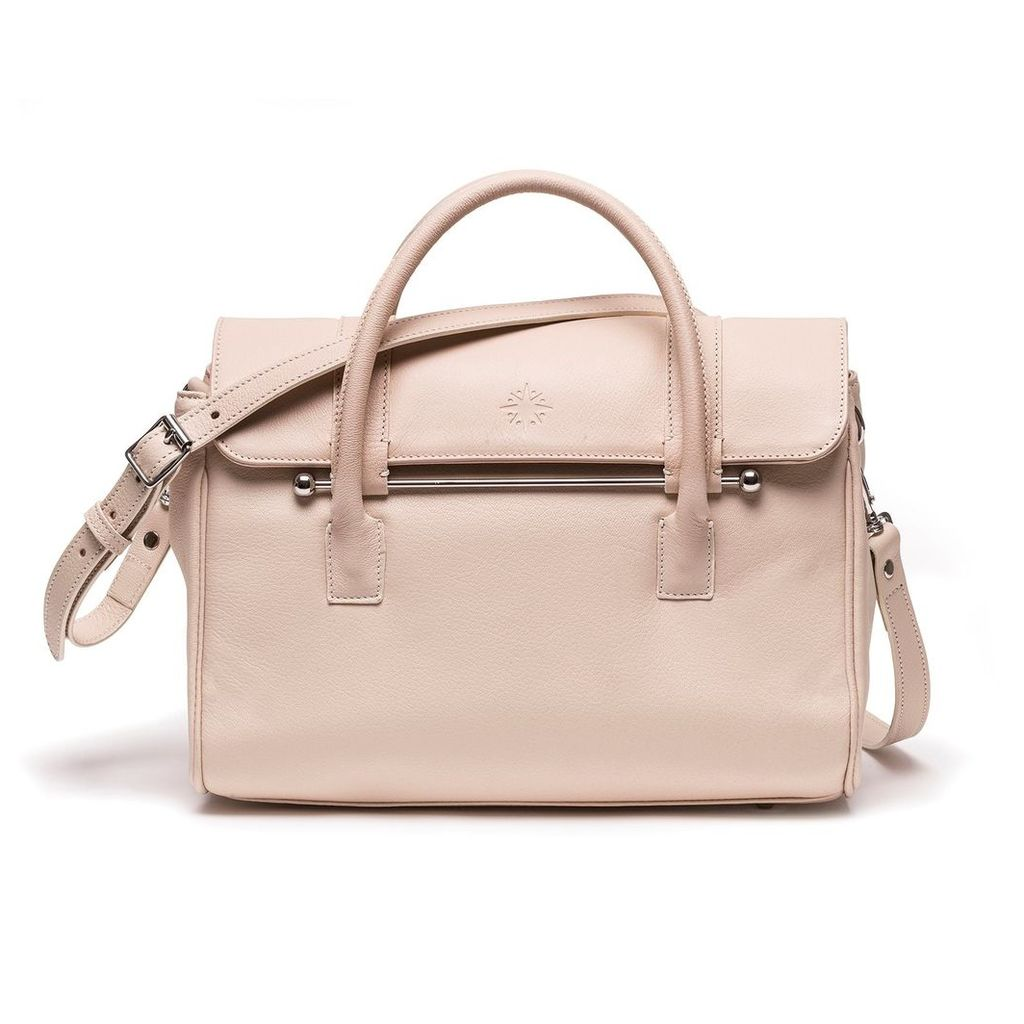 Jardine of London - The Small Queen Cross-body Bag in Cream