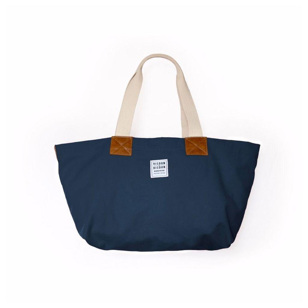 Risdon & Risdon - British Navy Canvas & Leather Bag