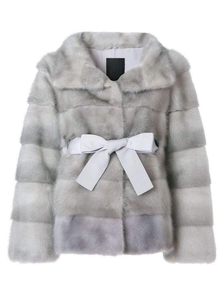 Liska Philippa coat - Grey