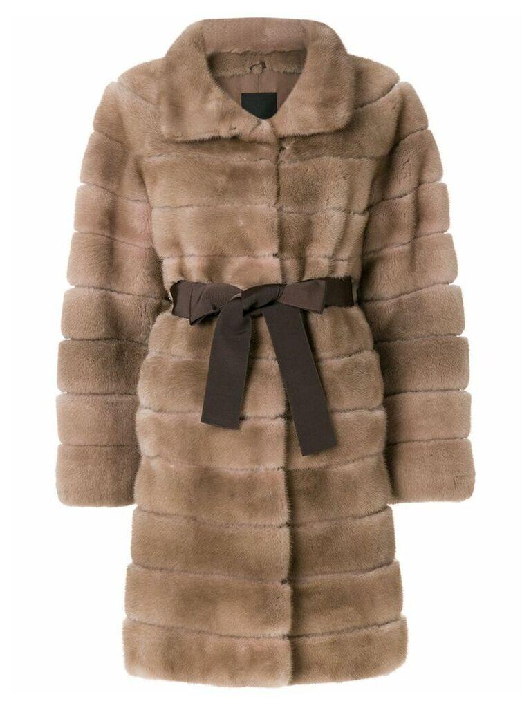 Liska Antonia coat - Brown
