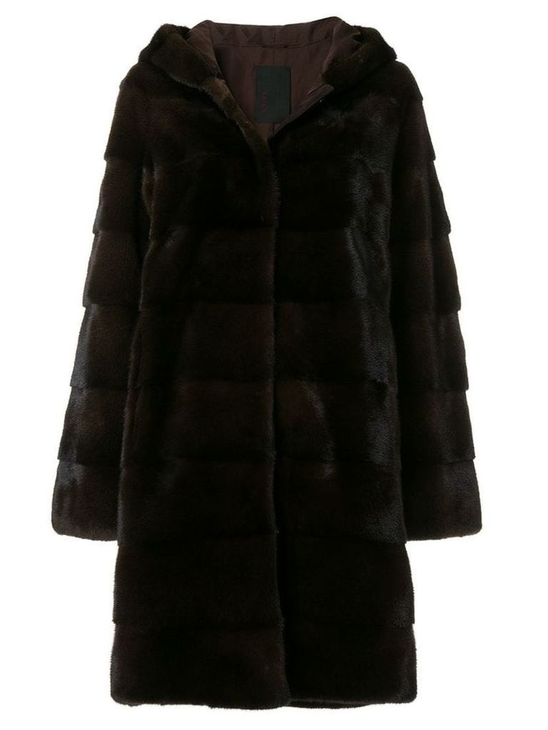 Liska Damiana coat - Brown