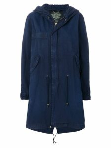 Mr & Mrs Italy slim fit midi parka - Blue
