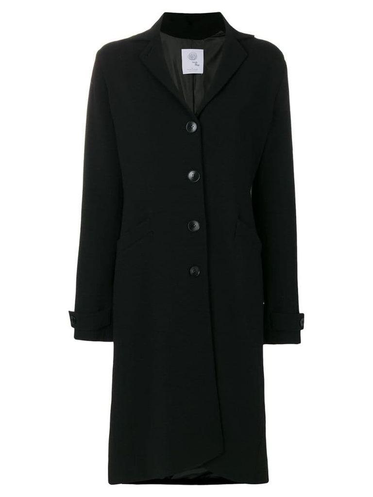 Boule De Neige single breasted coat - Black