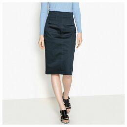 Split Front Pencil Skirt