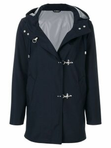 Fay hooded coat - Blue