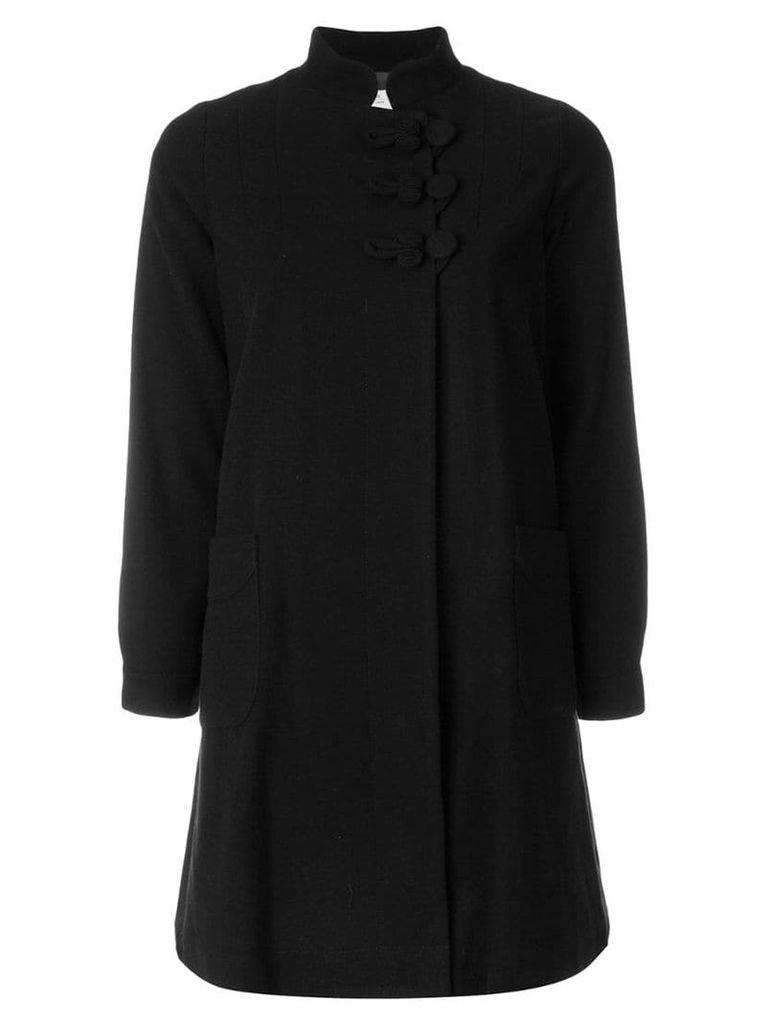 Visvim single breasted coat - Black