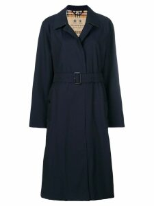 Burberry The Brighton - Extra-long Car Coat - Blue