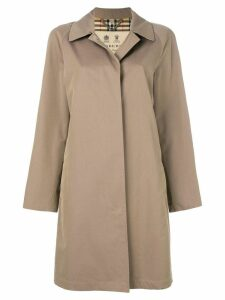 Burberry The Camden - Long Car Coat - Neutrals