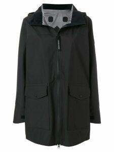 Canada Goose Wolfville hooded raincoat - Black