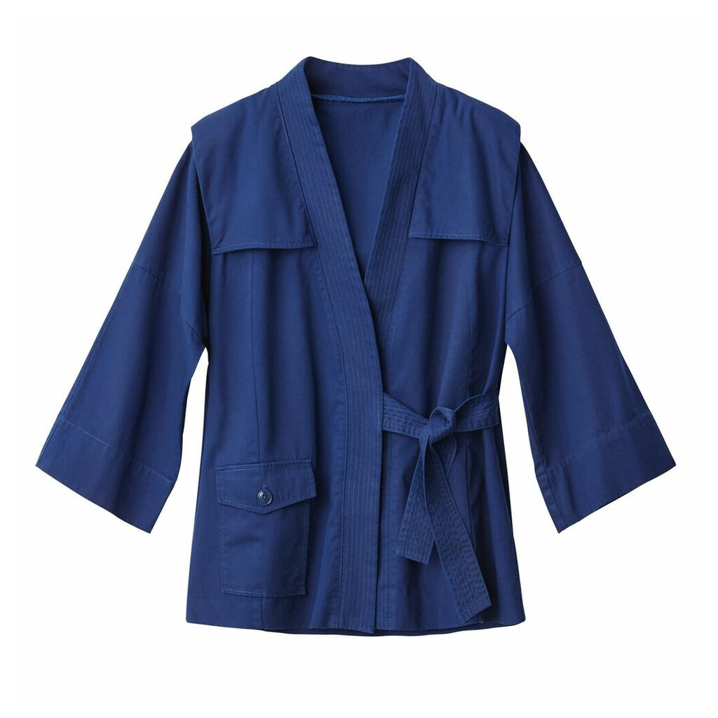 80s Padded Sleeve Kimono