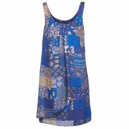 Desigual  OFFOELA  women's Dress in Blue