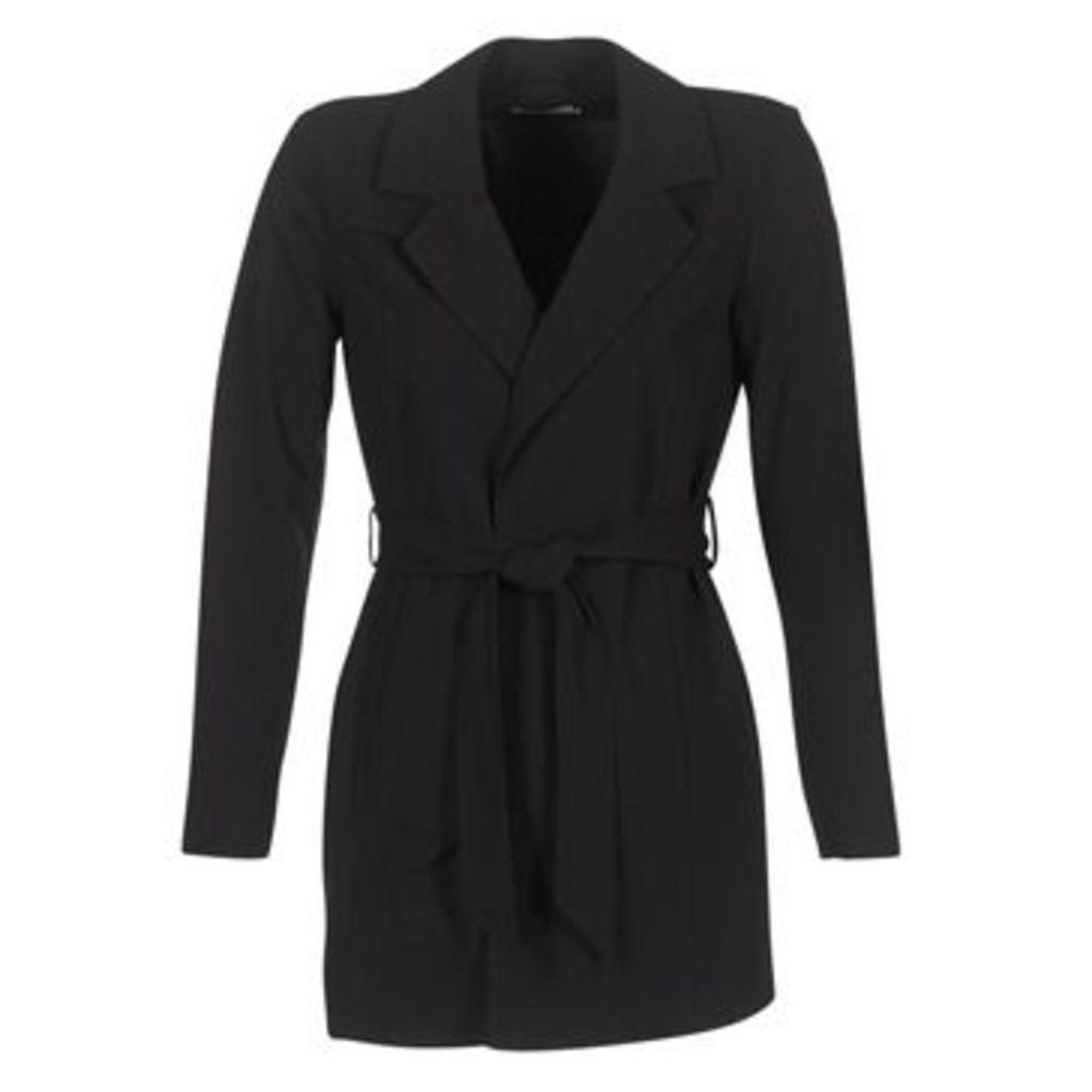 Only  DICTE RUNA  women's Trench Coat in Black