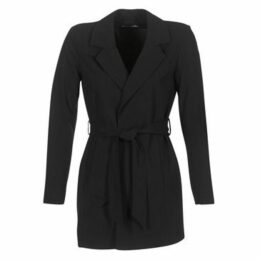 Only  DICTE RUNA  women's Trench Coat in Black