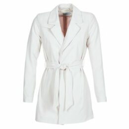 Only  DICTE RUNA  women's Trench Coat in White
