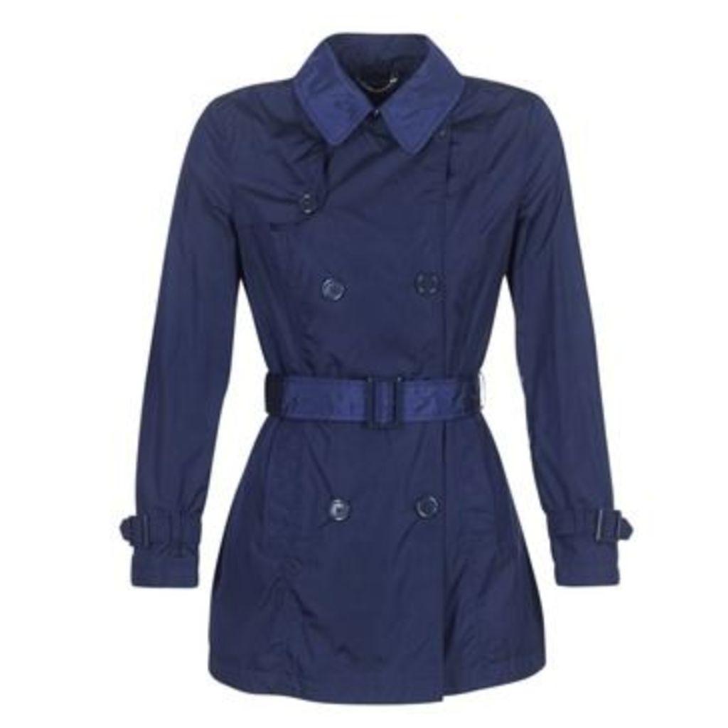 Geox  NEKSAMA  women's Trench Coat in Blue