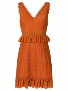 Three Floor Indigo dress - Orange