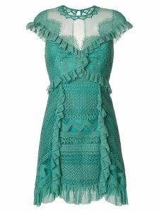 Three Floor Skylight dress - Green