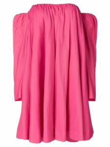 Calvin Klein 205W39nyc bardot ruffled dress - Pink