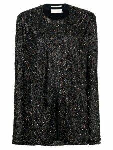 Faith Connexion sequin-embellished mini dress - Black