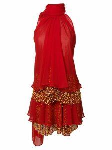 Talbot Runhof Pouty1 dress - Red