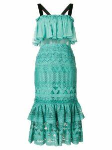 Three Floor Zinnia dress - Green