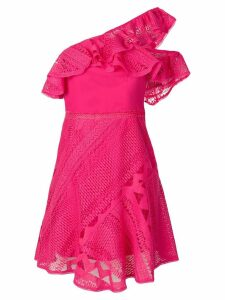 Three Floor Forward Frills dress - Pink