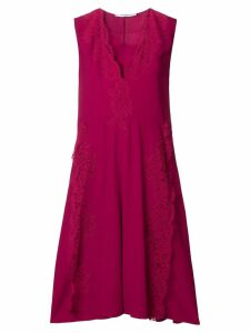 Givenchy lace flared midi dress - Pink