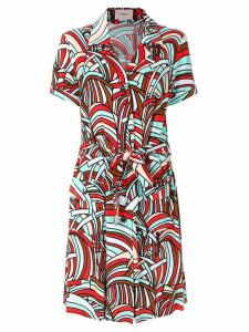 La Doublej Onde safari dress - Multicolour